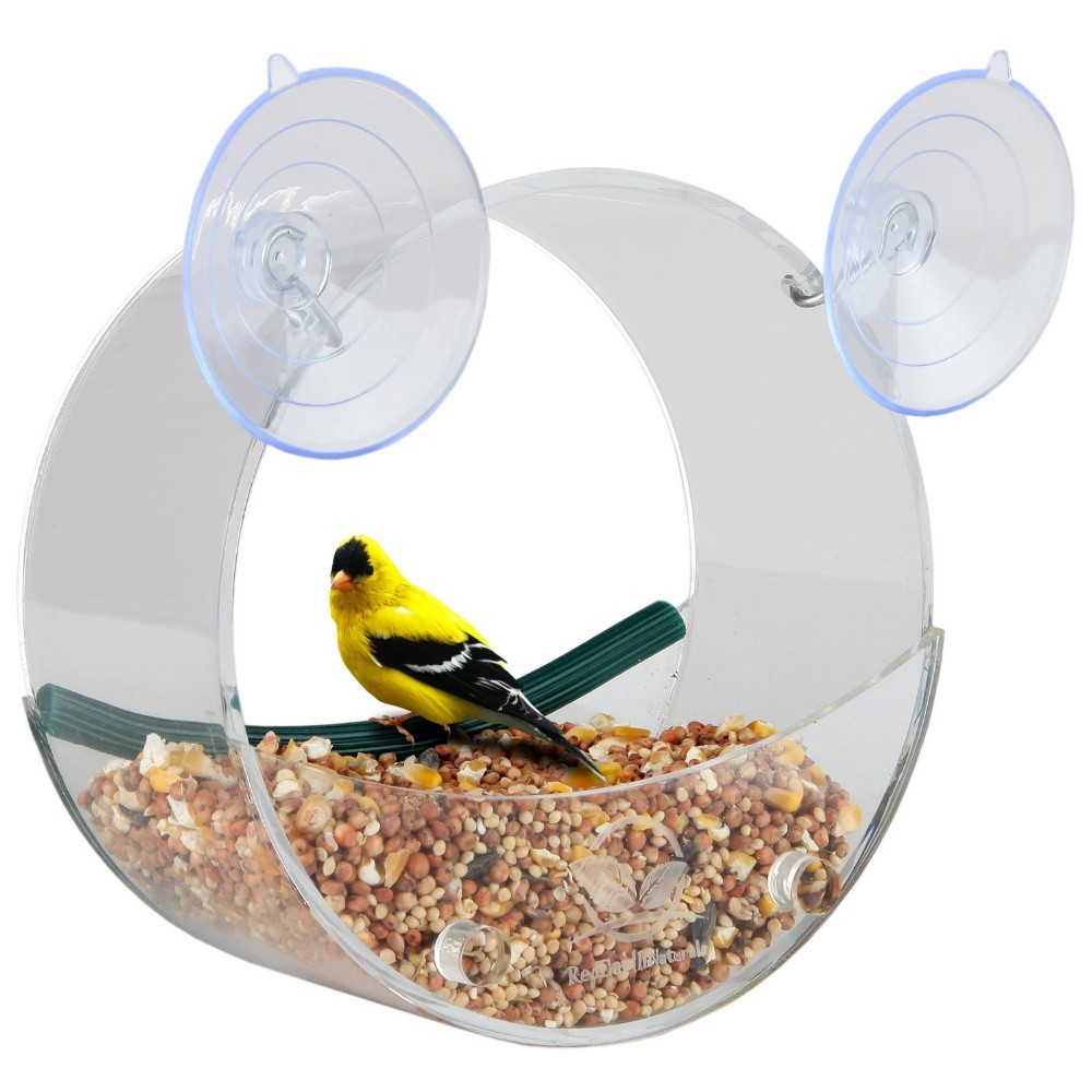 Acrylic window bird feeder,bird house