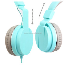2016 Top-sale Popular Children Headphone Comfortable Over Ear Nature Sounds Headset