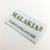 High quality custom garment woven label for clothing