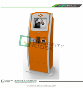 garage parking solution rfid car park barrier lobby cash payment kiosk