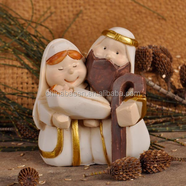 Polyresin figurine for nativity set