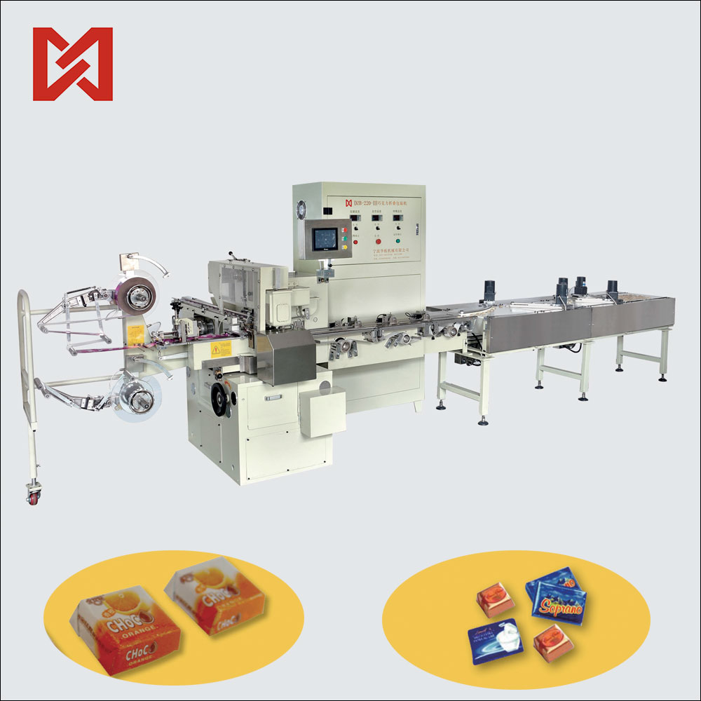 Wrapping machine chocolate coins packing machine