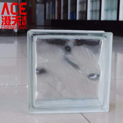 Custom size Decorative Pattern Glass Brick