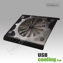 Two Fans Notebook Laptop Adjustable USB Cooling Pad New