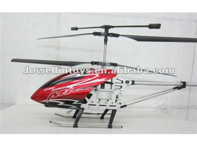 HOT SALE!!!big 3ch rc metal helicopter with gyro
