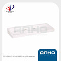 ANHO Patent Wall mounted white Plastic bathroom shelf, single layer