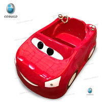 K-533 Chinese manufacture red car portable bathtubs for children with LED light
