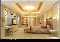 European Royal Interior Design 3D Rendering