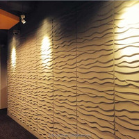 3D board decorative wall light cover board