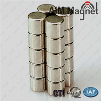 D10x20mm Strong Small Round Colored Magnet
