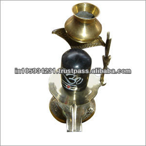 Good Quality Brass Shivling Idol