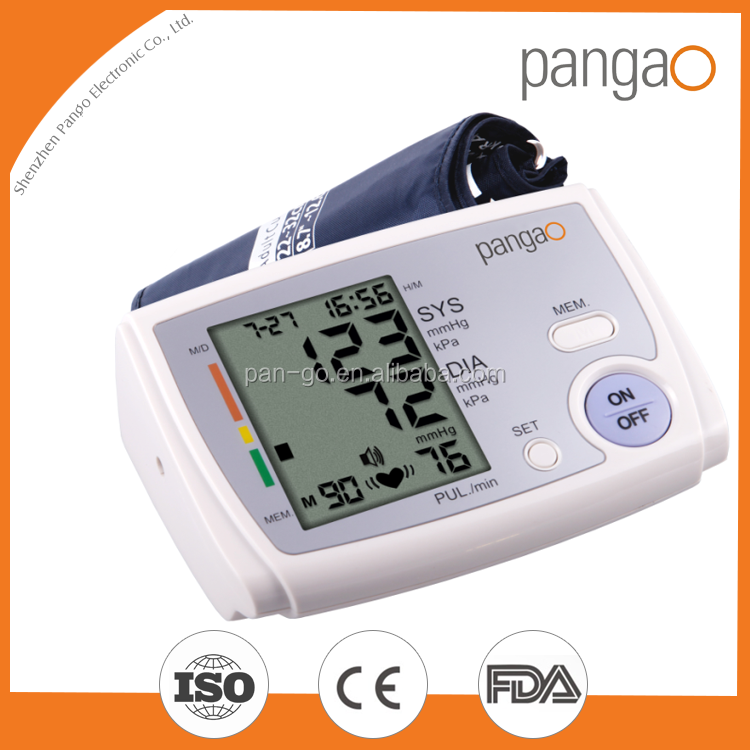 New launched products fuzzy logic upper arm blood pressure monitor cargo alibaba