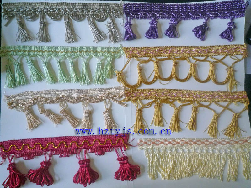 Home Textile, Decorative, Curtain, Car, Garment &Cellphone Use and Fringe Type Tassel