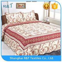 Best sale high quality New Design Family Patterns hollow fiber soft patchwork quilt