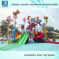 2015-2016 Amusement Park, Fiberglass Water Slide Tubes for sale ODM