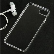 full cover clear hard pc crystal case for iphone 7 pro