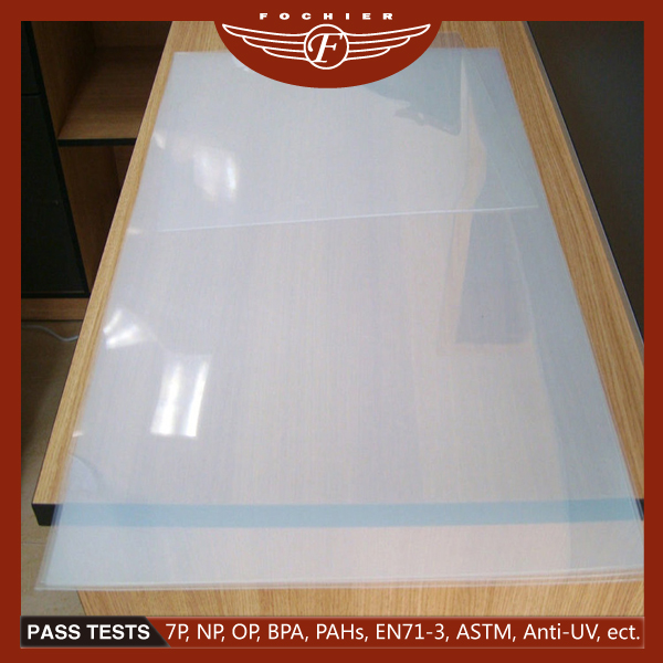 100% new material PP plastic sheet,one side glossy one side matt PP sheet