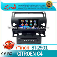 high quality car dvd player for Citroen C4 with gps/canbus/ipod on-sale!hot!