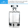 wholesale home decor bohemia crystal bulk whiskey glass wine decanter