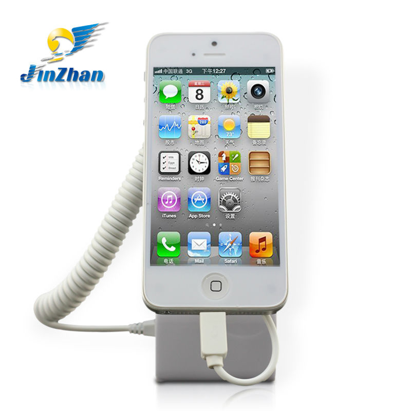 hot sale mobile phone smart holder security alarm system for cell phone
