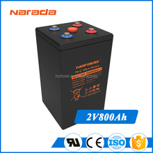 Chinese Narada 2V 800Ah Long Life Lead Carbon Solar Battery REXC-800