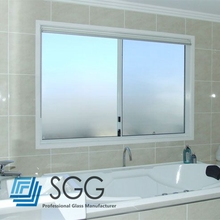 4mm 5mm 6mm 8mm Bathroom Decorative Window Glass