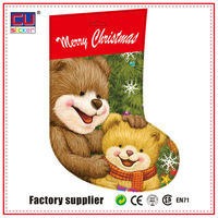 Hot Sell Christmas Gift Wrapping Plastic Bags
