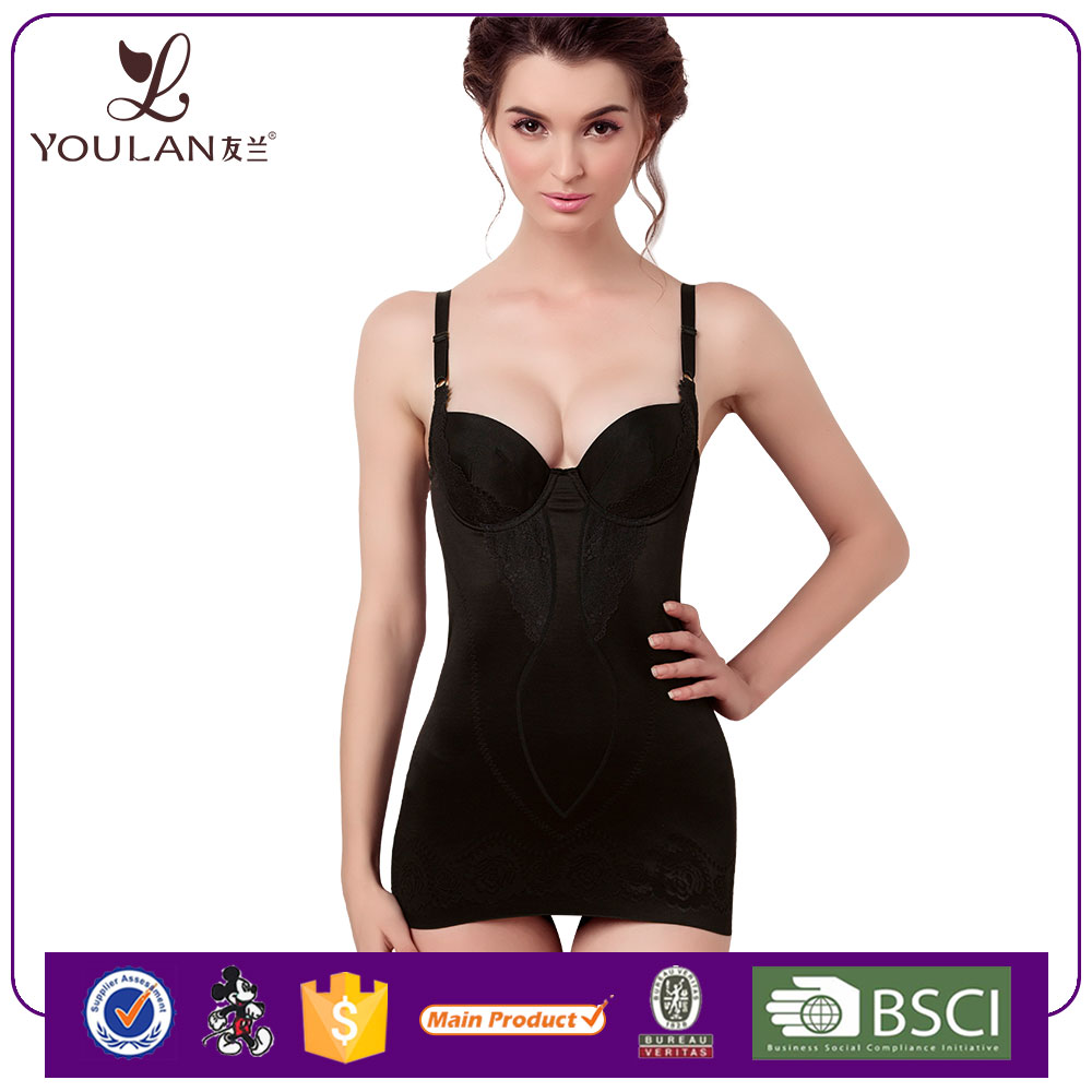Women's Lace Bodyshaper Body Briefer Slimming Big Girl Sexy Corset