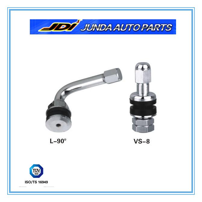 Vs tire valve for passenger car and light truck valves
