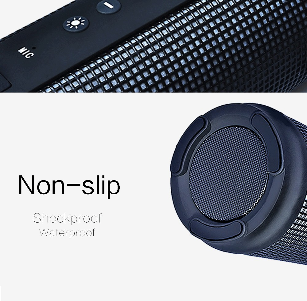 Portable mini shower waterproof bluetooth speaker