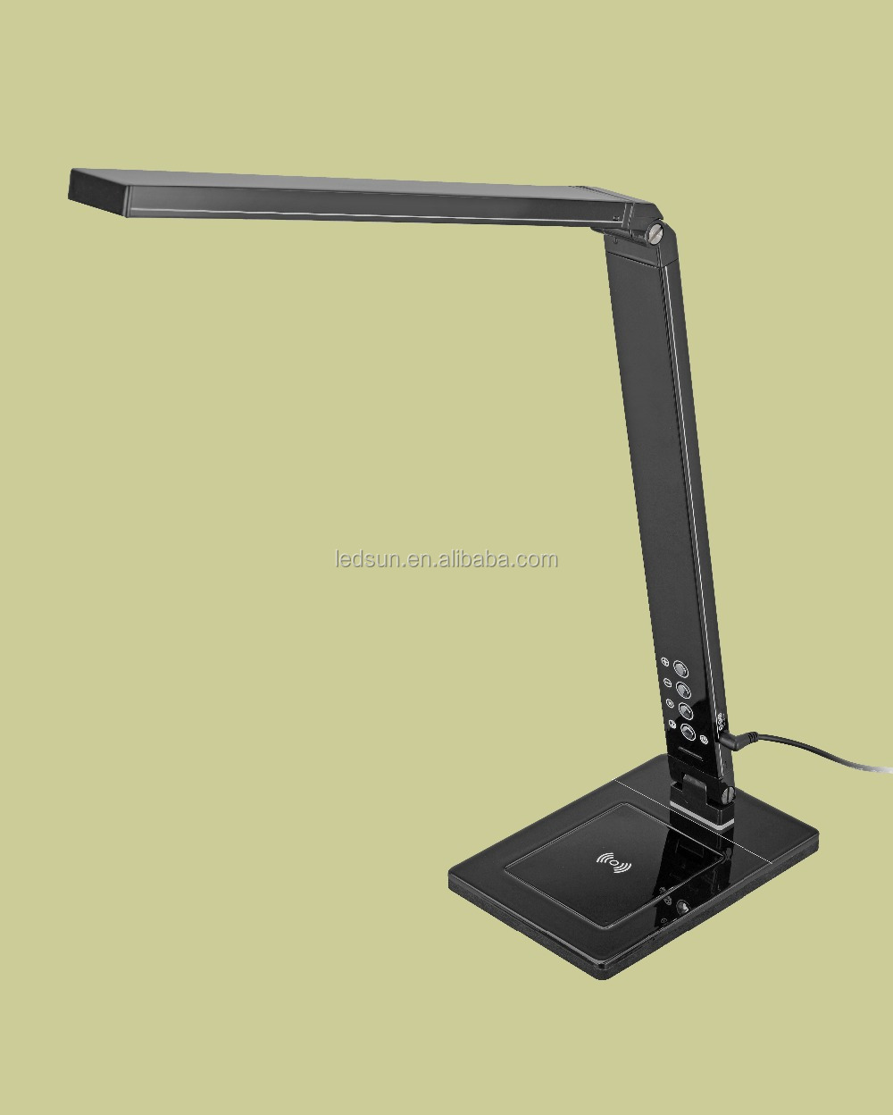 QI Wireless Charging LED Desk Lamp for Smart Phone& Watch