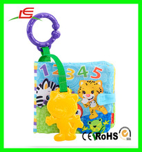 LE Customized OEM&ODM baby cloth soft book toy baby books for boys
