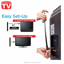 HDTV FREE Digital Indoor Antenna HD 1080p Ditch Cable Enhance signal Receive satellite Clear TV Key