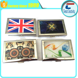 Epoxy Customized RFID Blocking Stainless Steel Wallets | Smart Metal Hard Case Wallet