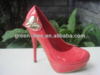 Red 2013 latest women shoes sexy high heels