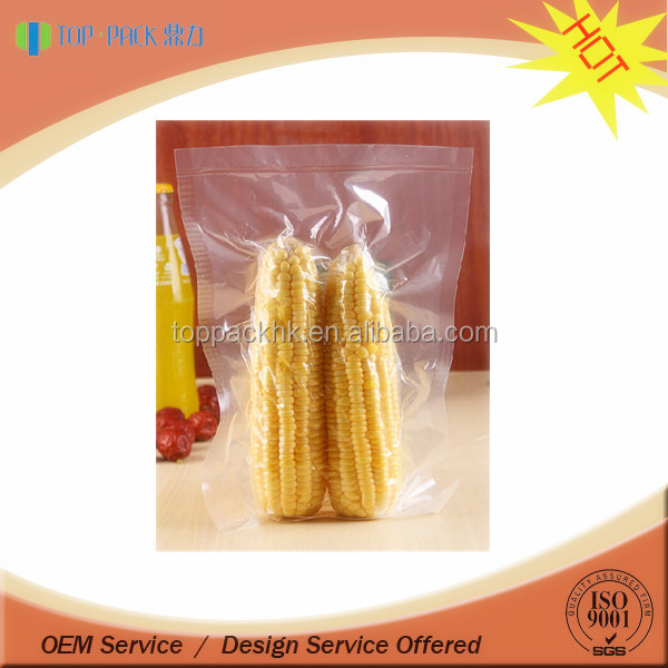 Vacuum sealed bags for sea food/frozen seafood plastic bags