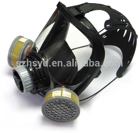 Durability and Safety Against Gases, vapours and particulates jual gas mask full face