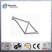 Customized titanium mountain bike frame bicycle parts