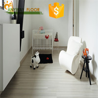 Unilin Click System 7mm Vinyl WPC Flooring/ Wood Plastic Composite WPC Indoor Flooring with Cork Wood/ EVA Foam Sheet in Europe