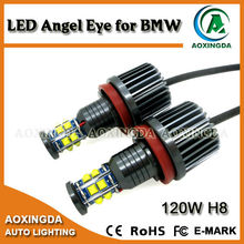 120W H8 LED angel eye for E92 E87 X5 X6