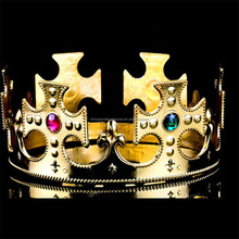 Gold Paper Kings Crown