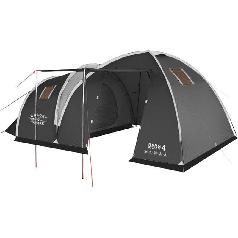 Factory Sale Cheaper One Bedroom One Hall Fiberglass Windproof Hiking Portable Outdoor Traveling Waterproof Camping <strong>Tent</strong>