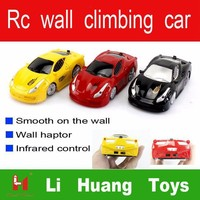 LH1208 Hot-sale 3CH Wall climbing Infrared Remote Control mini car acrobatics rc car for kids