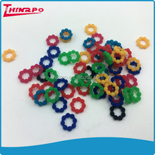 Assorted colors Unique design bead shape silicone band