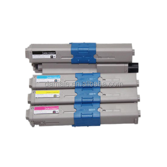 Premium Color Toner Cartridge 44469803/44469704/44469705/44469706 FOR okidata C330/C530/MC361/MC561 Compatible Toner Cartridge