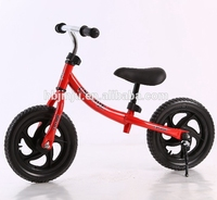 12 inch EVA tire cheapest children balance bike / feet power Kid Running Bike bicycle / Training mini Baby Walk Bike for Sale
