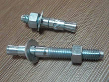 China manufacturers suppliers exporter double clip Kwik-bolt/wedge anchor/projection shield anchor bolt good quality