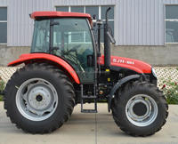 cheap farm tractor with 100Hp 4WD