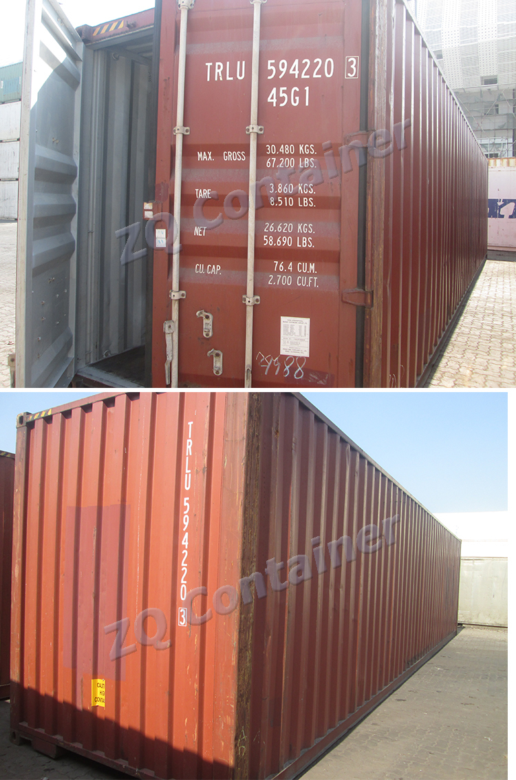 ISO standard old container for sale (20'40'GP 40HC)