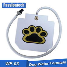 "Dog Fountain Pet Water Fountain With 41"" Hose Prevents Your Pet From Drinking Stagnant Water"